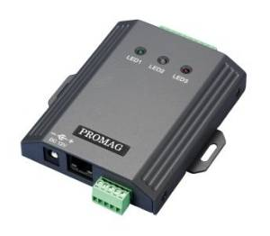 Promag WEC200 - Wiegand to Ethernet Converter - Wiegand to Ethernet converter. Network enable your wiegand devices / readers.