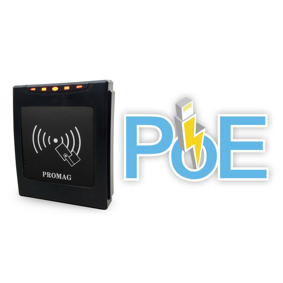 Promag ER750 / ER755 - Ethernet PoE MIFARE® Readers - 2