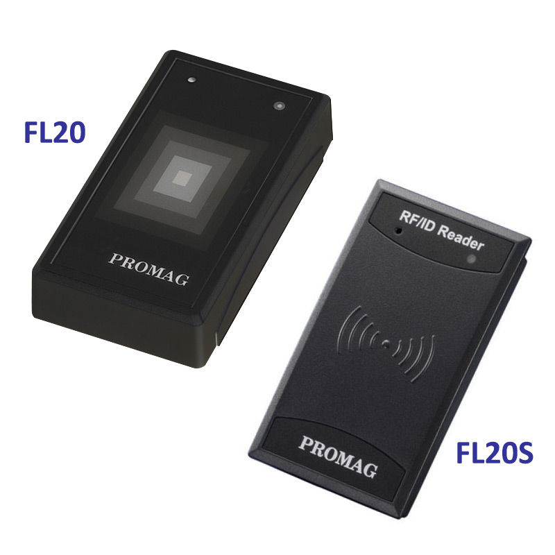 Promag FL20 & FL20S (1-Wire) Dual Frequency RFID and MIFARE® Reader - 125kHz and 13.56MHz RFID / MIFARE card reader